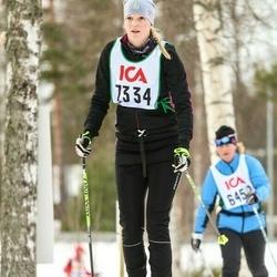 Skiing 30 km - Carolina Lönnegren (7334)