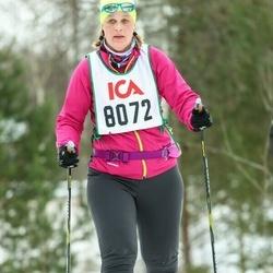 Skiing 30 km - Jeanette Carmström (8072)