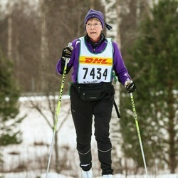 Skiing 30 km - Barbro Lindström (7434)