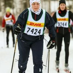 Skiing 30 km - Åsa Aretorn (7424)