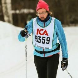 Skiing 30 km - Agneta Åhsberg (9359)