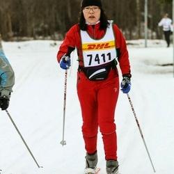 Skiing 30 km - Hua Karlsson (7411)