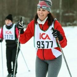 Skiing 30 km - Helene Claesson (9377)
