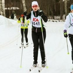 Skiing 30 km - Alexandra Bagger (9341)