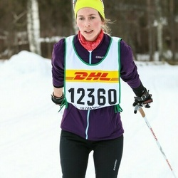 Skiing 30 km - Caroline Andersson (12360)