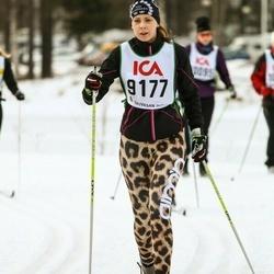 Skiing 30 km - Jenny Stensell (9177)