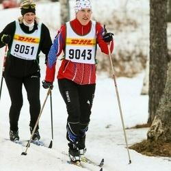 Skiing 30 km - Jenny Svahn (9043)