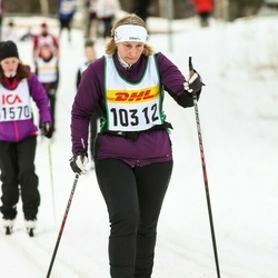 Skiing 30 km - Carina Johansson (10312)
