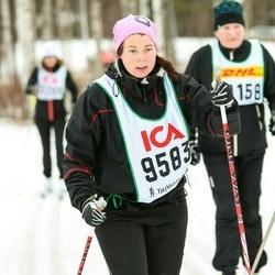 Skiing 30 km - Jennie Almström (9583)