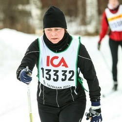 Skiing 30 km - Christina Spångäng (13332)