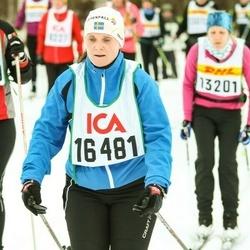 Skiing 30 km - Jennie Naeslund Larsson (16481)