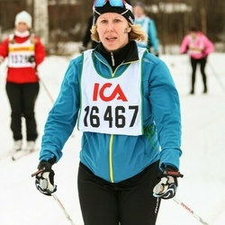 Skiing 30 km - Eva Lundahl (16467)