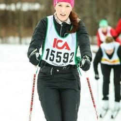 Skiing 30 km - Jennie Fröström (15592)