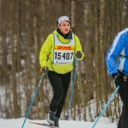 Skiing 30 km - Erika Ahlström (15407)