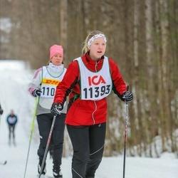 Skiing 30 km - Jenny Orjala (11393)