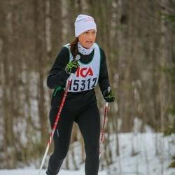 Skiing 30 km - Jennie Borg (15312)
