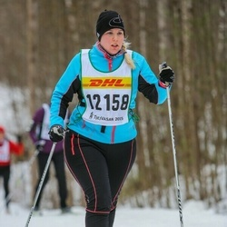 Skiing 30 km - Frida Fredriksson (12158)