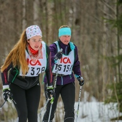Skiing 30 km - Eva Sandin (15154)