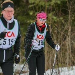 Skiing 30 km - Jeanette Widstrand (17366)