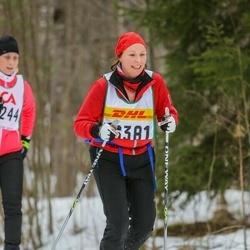 Skiing 30 km - Ditte Aldeman (16381)