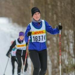 Skiing 30 km - Karin Svensson (16374)