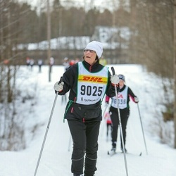 Skiing 30 km - Christina Alfredsson (9025)