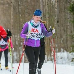 Skiing 30 km - Elin Augustsson (15522)