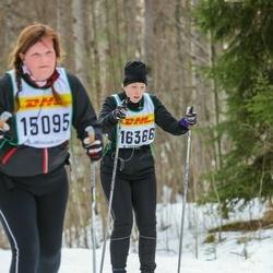 Skiing 30 km - Alexandra Möllerström (16366)