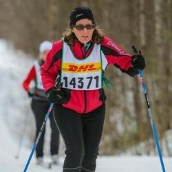 Skiing 30 km - Agneta Sundgren (14371)