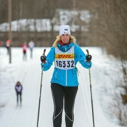 Skiing 30 km - Camilla Larsson (16332)