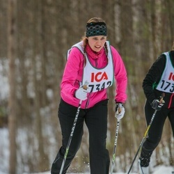 Skiing 30 km - Jenny Tegnér (17342)