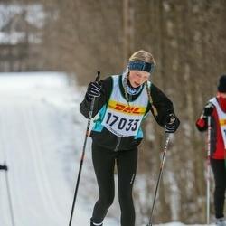 Skiing 30 km - Elsa Wallin (17033)