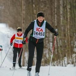 Skiing 30 km - Frida Hamberg (14450)