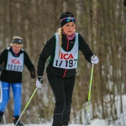 Skiing 30 km - Jeanette Moestedt (17197)
