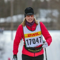 Skiing 30 km - Christine Vedeland Ander (17047)
