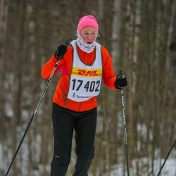 Skiing 30 km - Jeanette Ekberg (17402)