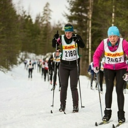 Skiing 30 km - Ida Andersson (2180)