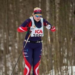 Skiing 30 km - Elin Lundqvist (2051)