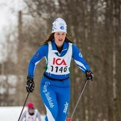 Skiing 30 km - Camilla Lundgren (1146)