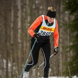 Skiing 30 km - Christine Evensson (2669)