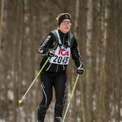 Skiing 30 km - Catrin Nilsson (2043)