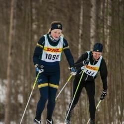 Skiing 30 km - Adina Johansson (1096)