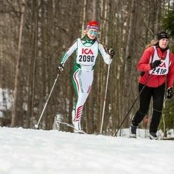 Skiing 30 km - Åsa Halldin (2090), Christina Wigren (2418)