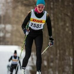 Skiing 30 km - Dora Szerencsi (2503)