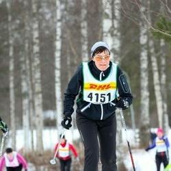 Skiing 30 km - Charlotte Uhrback (4151)