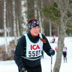 Skiing 30 km - Eliana Falkengren (5501)