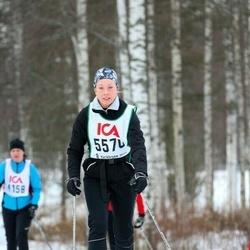 Skiing 30 km - Charlotta Carlsson (5570)