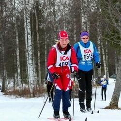 Skiing 30 km - Catrin Norrström (4097), Kari Eline Bakken (5515)