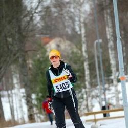 Skiing 30 km - Christina Andersson (5403)