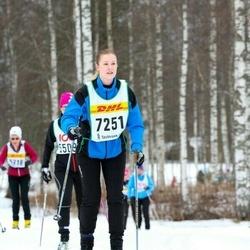 Skiing 30 km - Madelene Nilsson (7251)